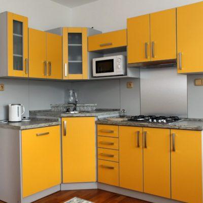 ubytování zdarma - kuchyňský kout