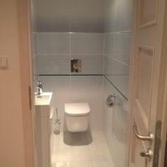 rekonstrukce bytu - nové WC