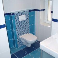 koupelna po rekonstrukci WC