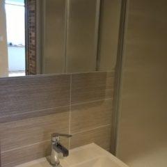 rekonstrukce bytu - nová koupelna