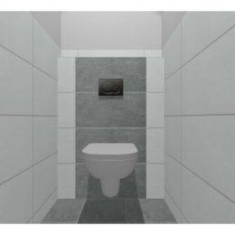 3D vizualizace WC