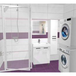 3D vizualizace koupelny se sprchovou zástěnou Ravak