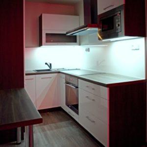 po rekonstrukci - osvětlení kuchyně