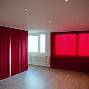 po rekonstrukci - obývací pokoj