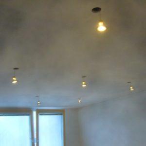 rekonstrukce - bodová světla