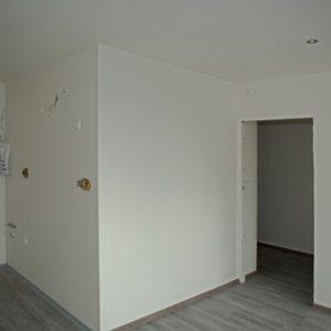 rekonstrukce - obývací pokoj s kuchyní