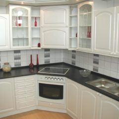 Kuchyň bílé prolis