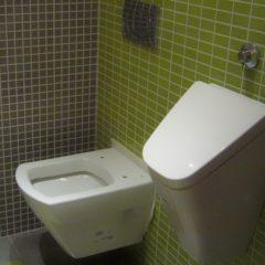 WC po rekonstrukci geberit