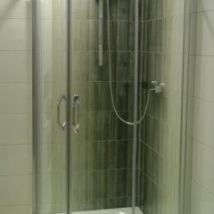 koupelna po rekonstrukci sprchový kout