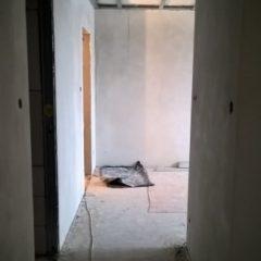 rekonstrukce bytu - nová chodba