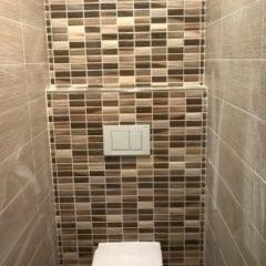 rekonstrukce bytu - závěsné WC geberit
