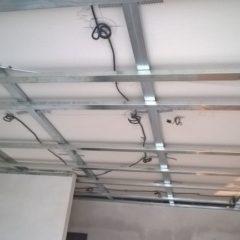 rekonstrukce bytu - příprava pod sádrokartonový podhled
