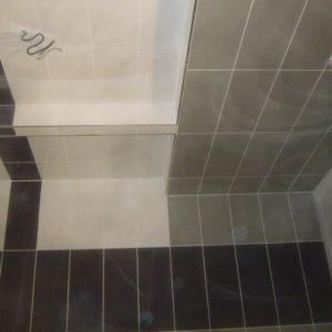 rekonstrukce - obkládání koupelny